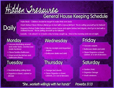 how to keep a clean house schedule hidden treasures no clutter no stress and a free gift