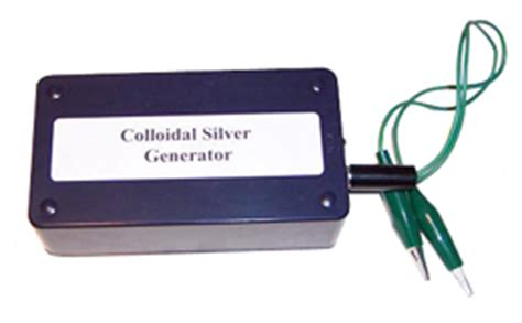 high voltage ac colloidal silver generator the new micro particle colloidal silver generator