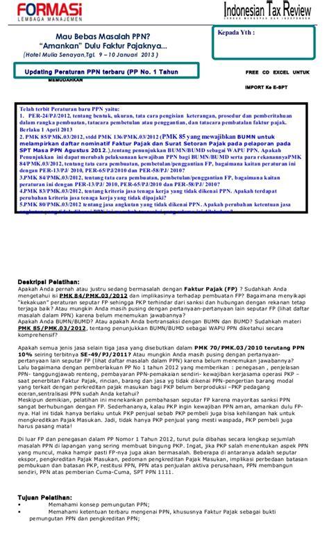 pembuatan faktur pajak terbaru peraturan terbaru ppn upload share and share the knownledge
