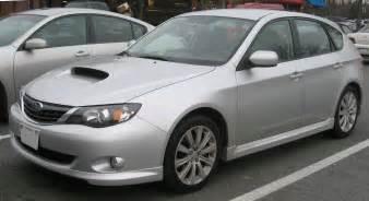 08 Subaru Impreza File 08 Subaru Wrx Hatch Front Jpg