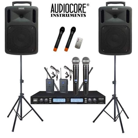 Sound System Paket by Jual Paket Sound System Portable Wireless Audiocore Harga