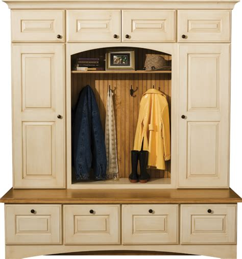entry cabinet with doors locker cabinets mudroom storage dura supreme cabinetry