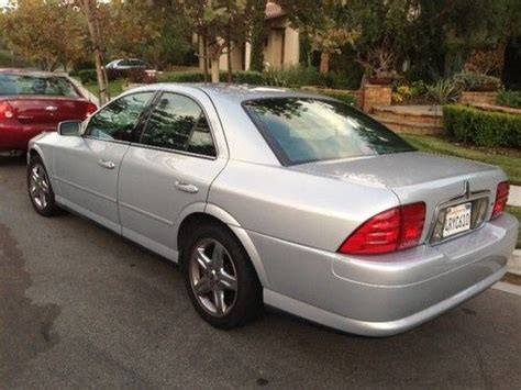 lincoln ls 2001 v8 sell used 2001 lincoln ls sedan v8 in rancho santa