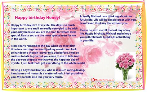 In Birthday Letter Sle Birthday Letter For Boyfriend Letter Birthday Letter For Boyfriend