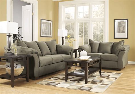 overstock living room sets darcy sage sofa set lexington overstock warehouse