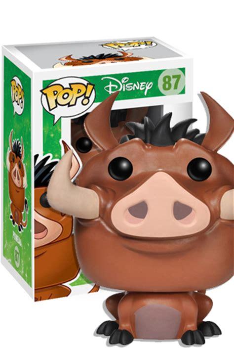 Pop Disney The King Pumbaa Vinyl Figure 87 Vaulted B41 pop disney the king pumbaa raccoongames es