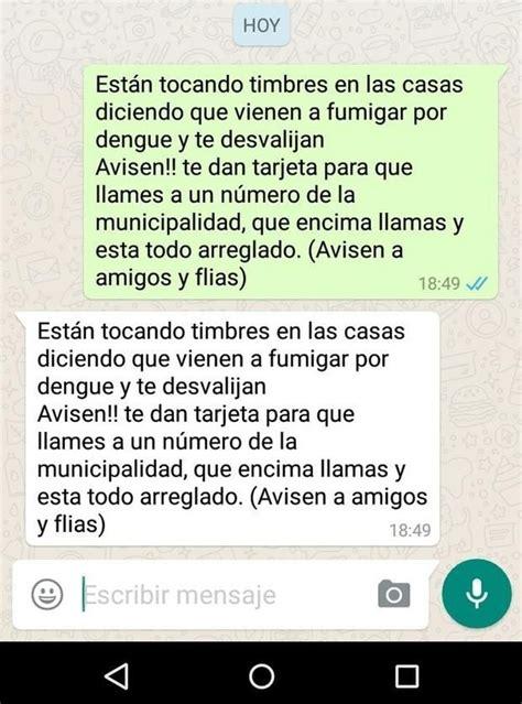 advierten por una cadena de whatsapp que mete miedo la - Cadenas Whatsapp De Miedo