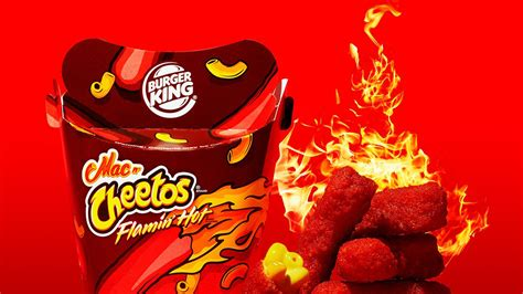 Mac N Cheetos burger king rolls out flamin mac n cheetos today