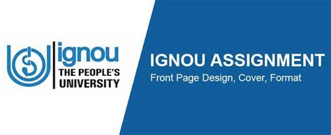 Mba Courses In Ignou 2015 by Ignou Mba Assignments 2018 Ignou 2018