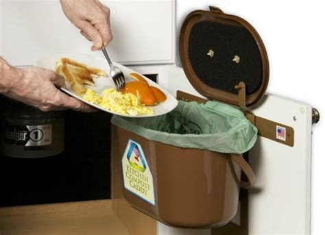 sink compost bin kitchen compost bin sink storage ideas to buy or
