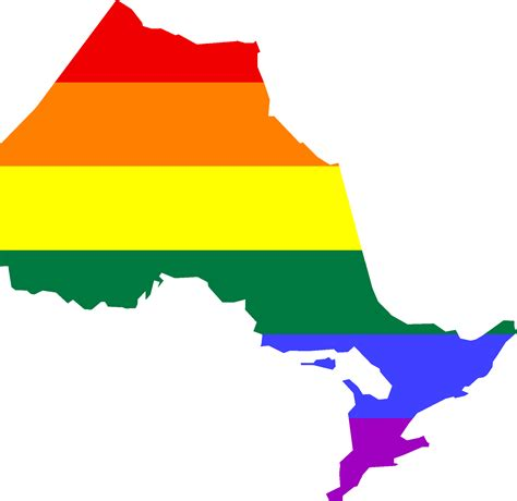 Call Lookup Ontario File Lgbt Flag Map Of Ontario Png Wikimedia Commons