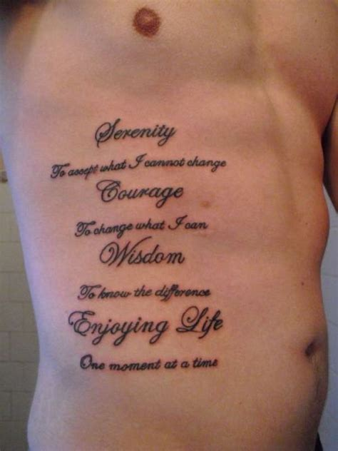 tattoo lettering ideas quotes rib tattoos for men choose the perfect quote your 1