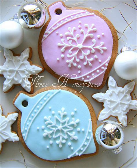 cookie ornaments snowflake ornament cookies flickr photo