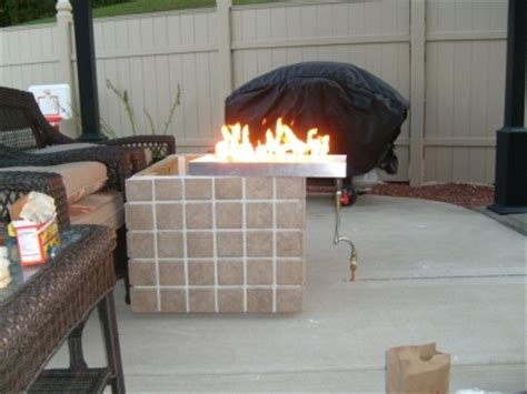 how to build a glass pit how to build a gas or propane outdoor pit