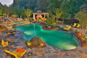 Pictures Of Backyards With Pools Backyard Pool Ideas Modern Magazin