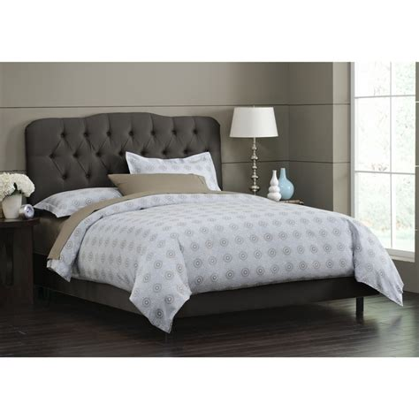 affordable tufted headboards affordable cute bed via http www wayfair com skyline