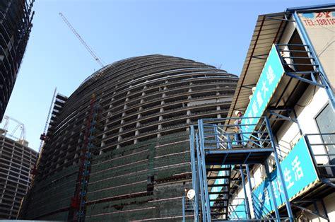 designboom beijing wangjing soho by zaha hadid construction in beijing