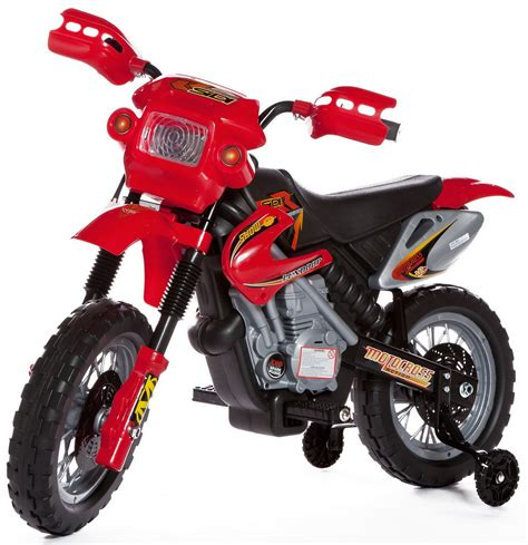 childs motocross bike kids ride on car motorcycle style electric 6v battery bike