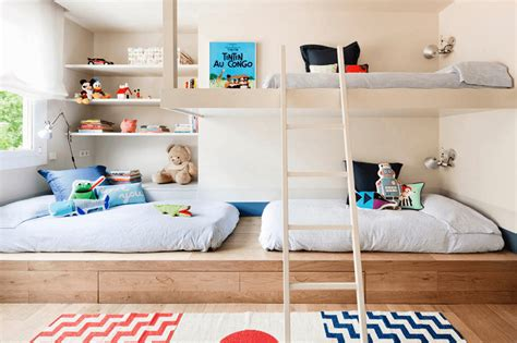 creative shared bedroom ideas   modern kids room