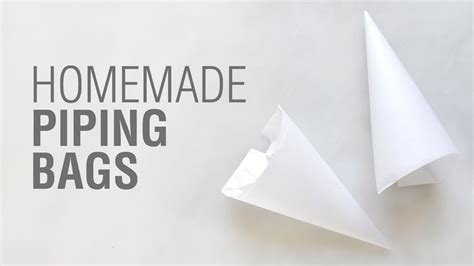 How To Make A Piping Bag Out Of Parchment Paper - parchment paper piping bags