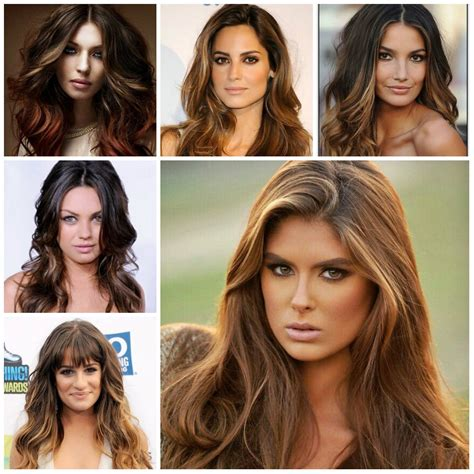 trendy highlights 2015 2016 vibrant brown hair color with highlights trendy