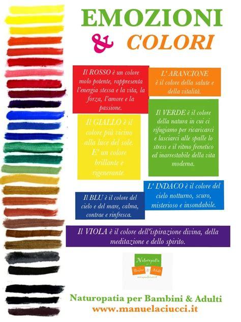 la delle emozioni italiano i colori e le emozioni italiano montessori
