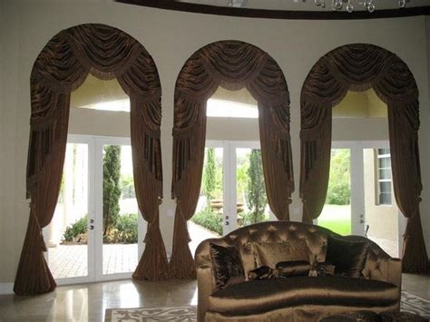 classical bedroom curtain curved window treatments pinterest valance arch and bedrooms window treatments for arched windows with awesome curtains