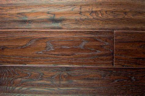 Beautiful Hand scrapped Hardwood Floors