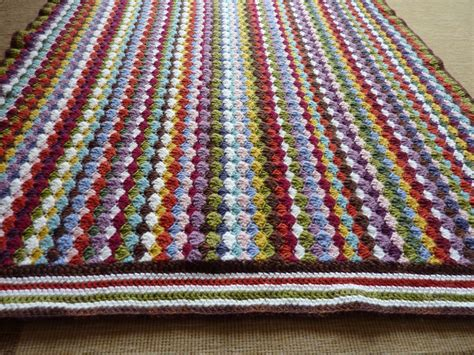 How To Crochet A Blanket by My Valley Crochet Blanket Voila