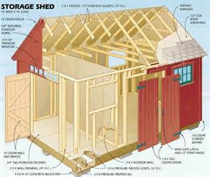 shed plans vip10 x 20 shed plans how you can build a