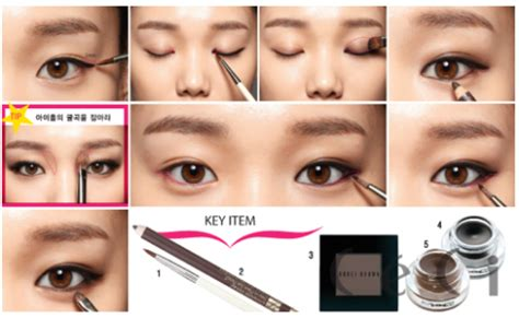 makeup tutorial korean natural look yun shock blog natural korean makeup eyes