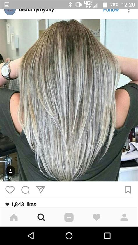 doing low lights on gray hair 25 beautiful gray hair highlights ideas on pinterest