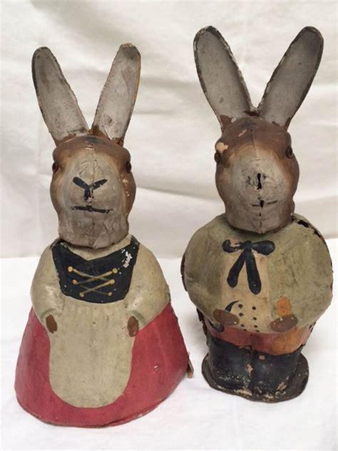 Size Antique German Easter Bunny - 904 beste afbeeldingen antique easter decorations op