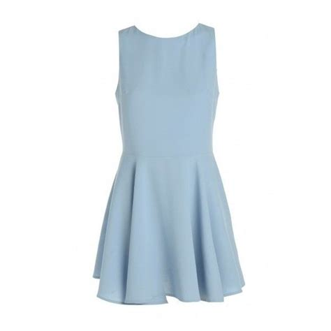 Light Blue Skater Dress by Light Blue Skater Dress Instyle Fashion
