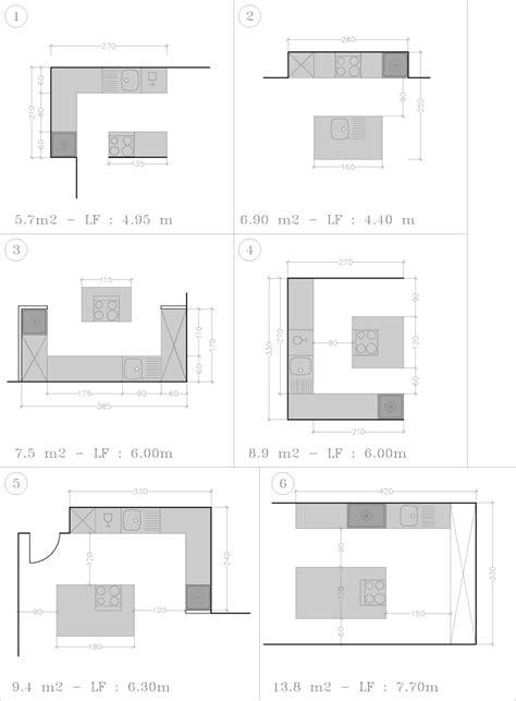 cuisine en u avec ilot central 3788 plan cuisine avec ilot central cuisine en image