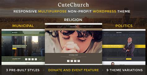 cute themes for wordpress free download cutechurch wp theme free download