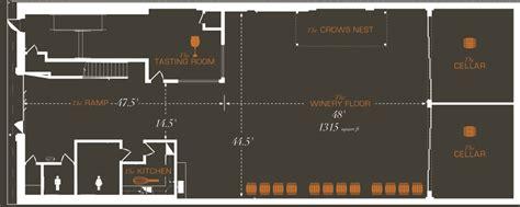winery floor plans la winery kreatif architects 23 30 floor plan winery