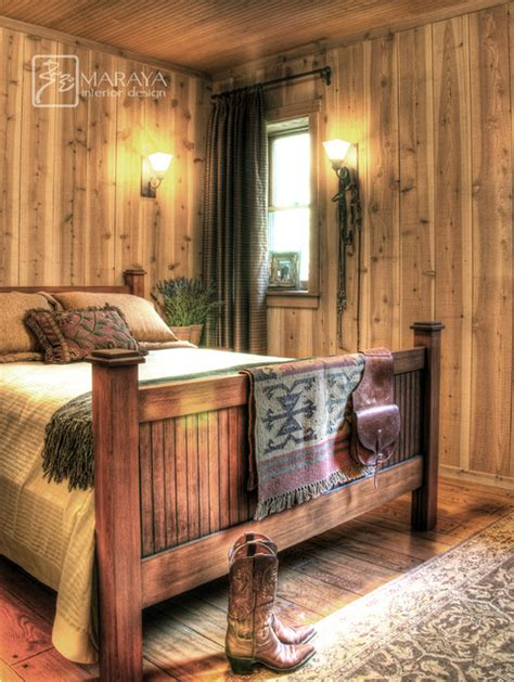 rustic farmhouse bedroom rustic cabin bedroom farmhouse bedroom santa barbara by maraya interior design