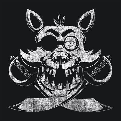 foxy fnaf t shirt five nights at freddy s textual tees