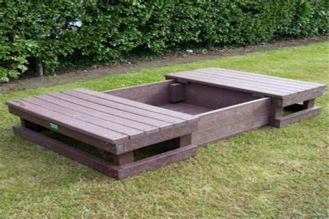 Outdoor Pit With Lid Sand Pit With Lid