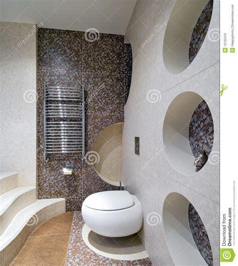 nieuw ontwerp van toiletruimte stock foto afbeelding