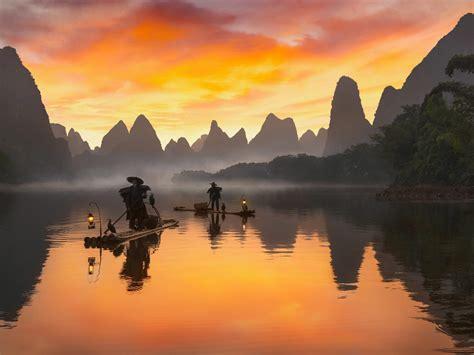 li river  china view  xialong    xingping