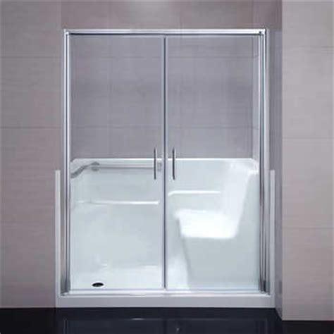walk in shower replacement for bathtub seguria walk in 60 in shower kit tub replacement