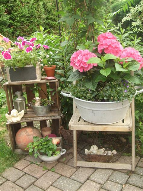 hortensien idee garten - Blühende Büsche Für Garten