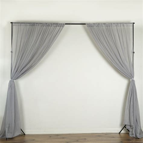 Voile Wedding Backdrop by Voile Backdrop 10x10 Ft Curtain Photo Booth Background