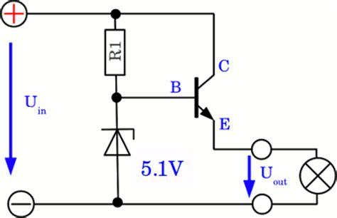 npn transistor zener diode constant voltage homofaciens