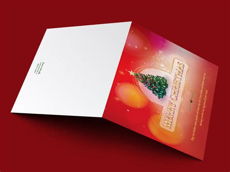 Christmas Greeting Card Template Templates On Creative Market Email Cards Templates