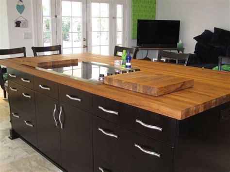 Teak Countertop by Teak Wood Countertop Photo Gallery By Devos Custom