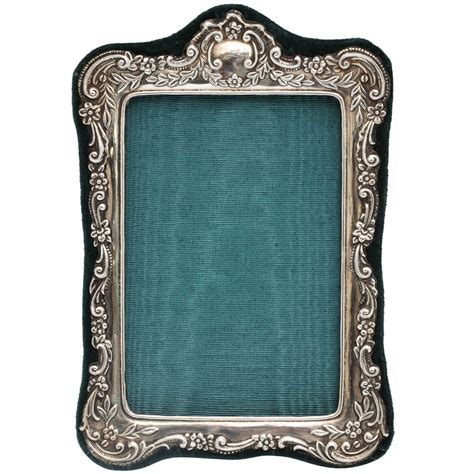 picture frame sterling silver picture frame at 1stdibs