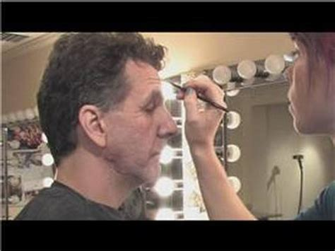how ti do a senior mans makeover theatrical makeup how to do old man makeup youtube